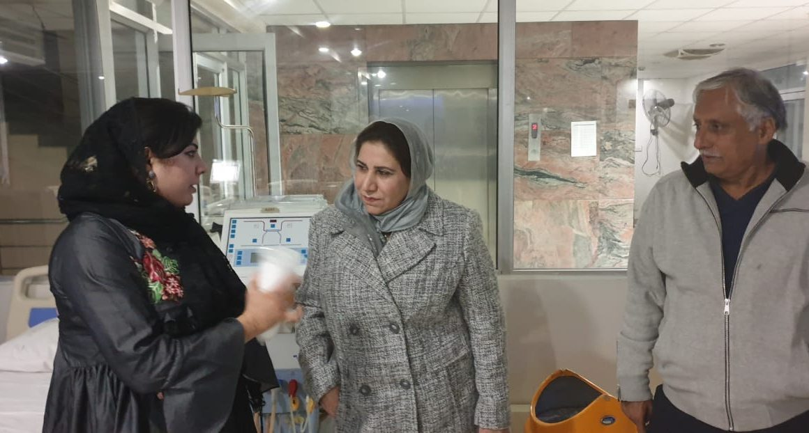 2019 01 03 – H.E Raheela Khan Initiates Monthly Donations For REDO MEDICAL COMPLEX For Eyes – Islamabad