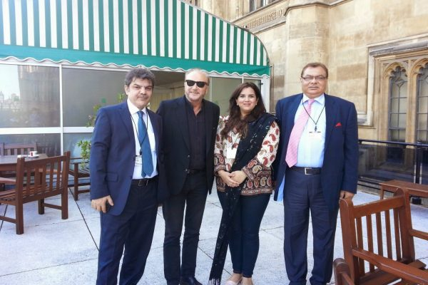 2014 – OPS Chairman Inducts Mubasher Lucman In Manchester